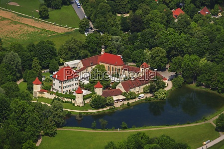 germany bavaria munich blutenburg castle