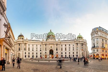 austria vienna old hofburg