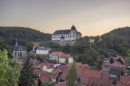 germany saxony anhalt stolberg view of