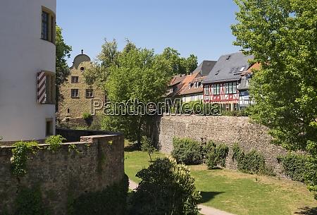 germany hesse frankfurt hoechst old town