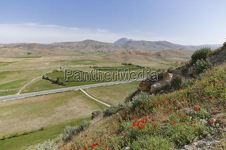 turkey east anatolia cavustepe view from