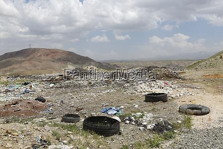 turkey east anatolia van province dump