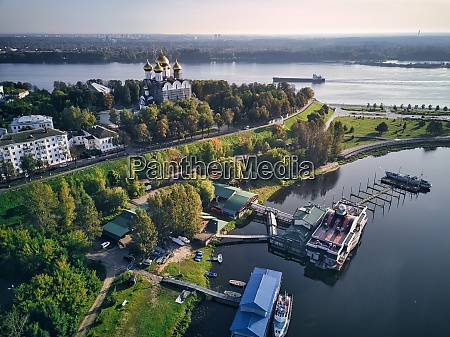 aerial, view, of, harbor, near, park - 29120915