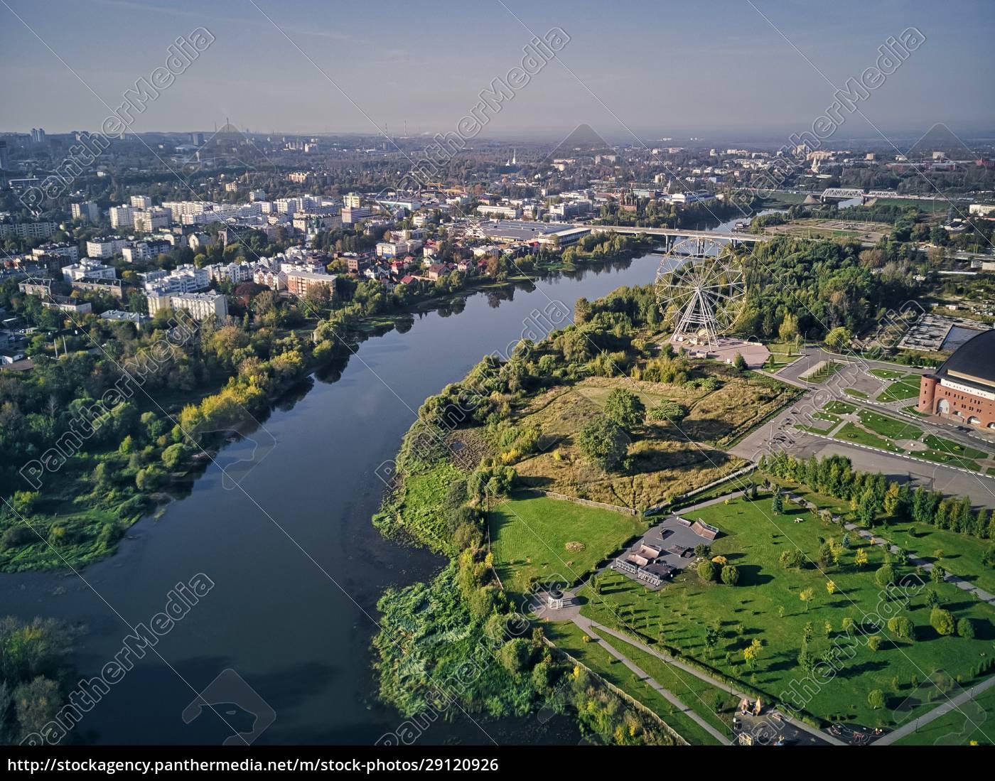 aerial, view, of, kotorosl, river, in - 29120926