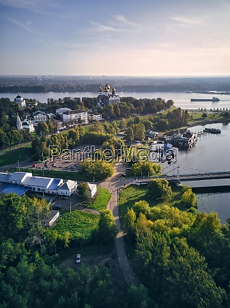 aerial, view, of, park, at, strelka - 29120913