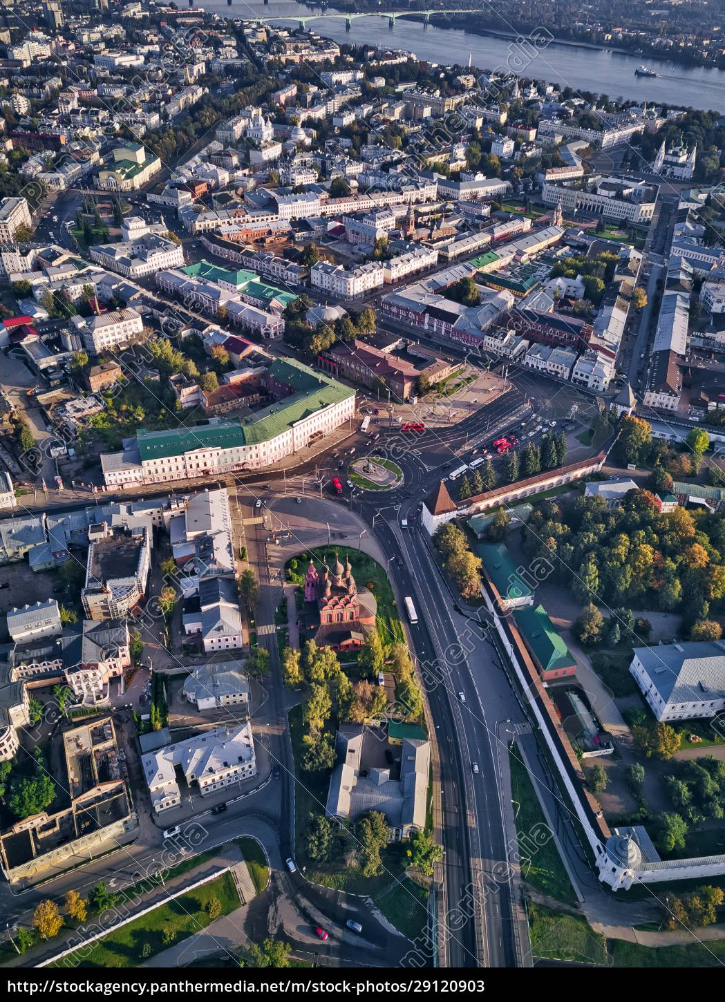 aerial, view, of, yaroslavl, city, with - 29120903
