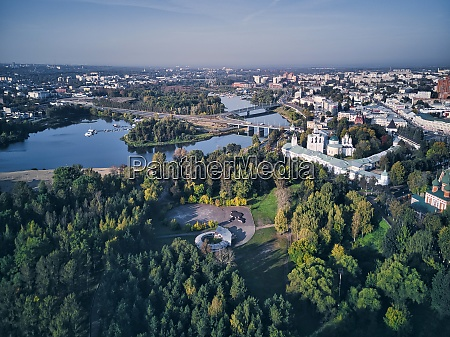 aerial, view, of, yaroslavl, museum-reserve, and - 29120921