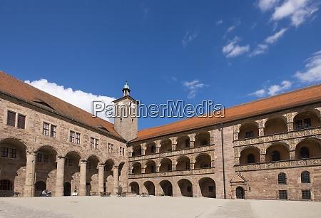 germany bavaria upper franconia kulmbach patio