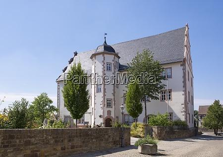germany bavaria gerolzhofen alte vogtei