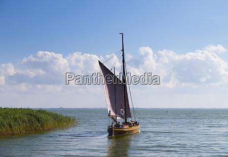 germany mecklenburg western pomerania ahrenshoop harbor