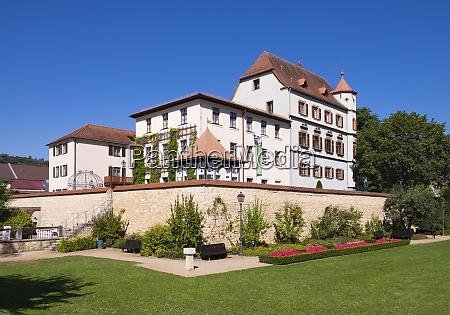 germany bavaria franconia treuchtlingen city castle