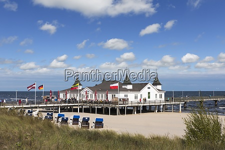 germany usedom ahlbeck view to