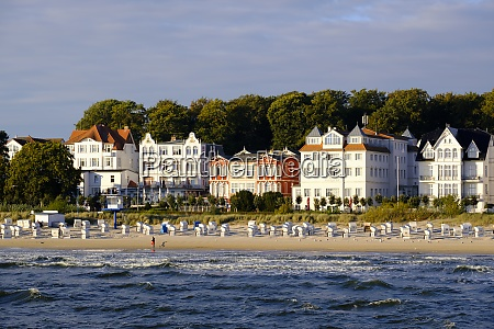 germany usedom bansin view to the