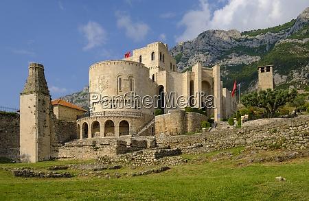 albania kruje skanderbeg museum in the