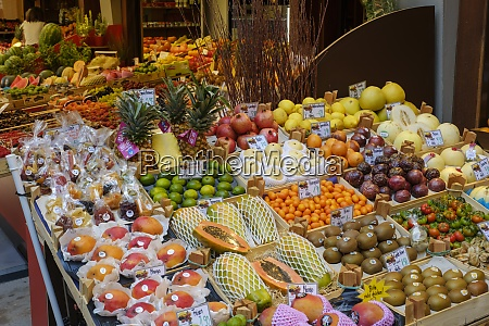 germany augsburg fruit stand on market