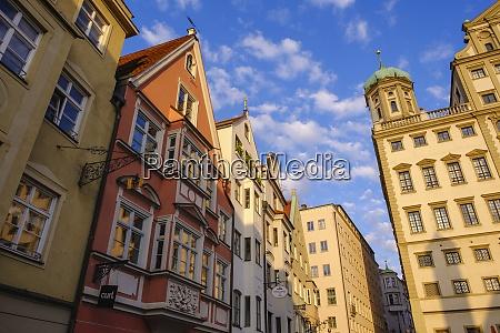 germany bavaria augsburg former craftsmans houses