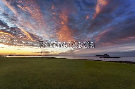 scotland north berwick west golf course