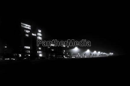 uk edinburgh west granton at night