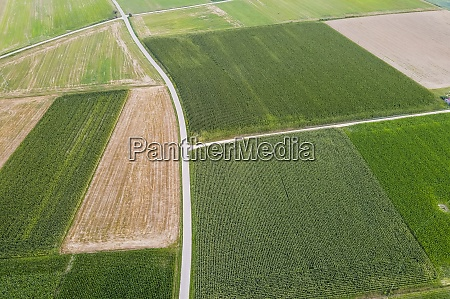 drone, view, of, countryside, fields - 29121735