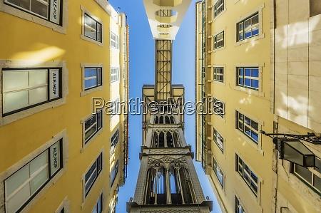 portugal lisbon santa justa lift