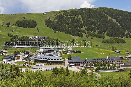 italy south tyrol compatsch at seiser