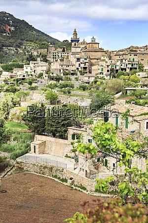 spain balearic islands mallorca valldemossa village