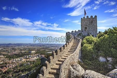 portugal sintra castelo dos mouros
