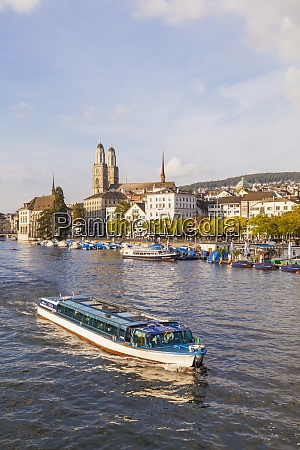 switzerland zurich view of city with