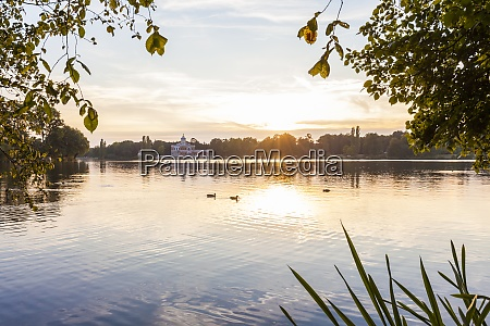 germany potsdam view to marmorpalais with