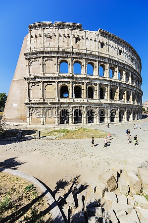 italy, , rome, , colosseum, and, tourists - 29122628