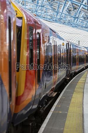 uk england london subway train waiting