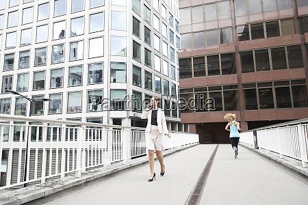 female entrepreneur talking through mobile phone