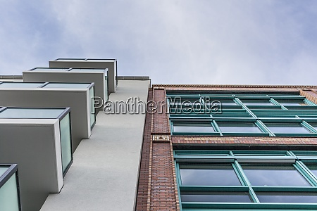germany berlin new residential building and