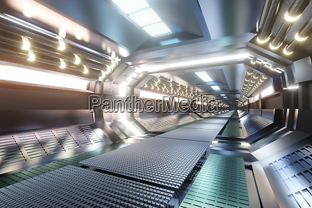 3d rendered illustration of science fiction