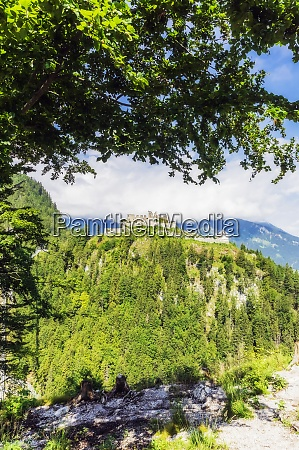 austria tyrol reutte ruins of ehrenberg