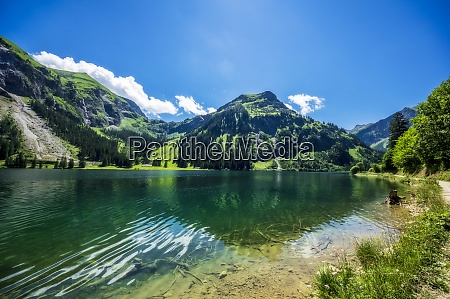 scenic view of vilsalpsee lake in