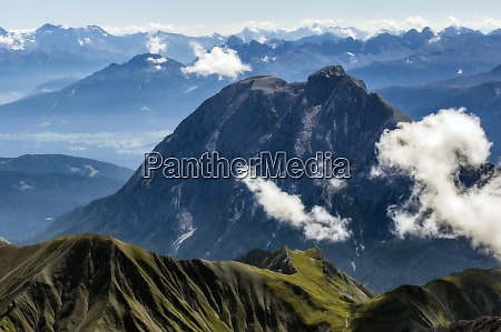 austria tyrol scenic view of clouds