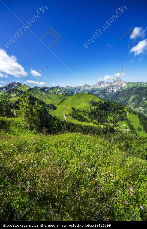 austria, , tyrol, , green, scenic, landscape, of - 29126599