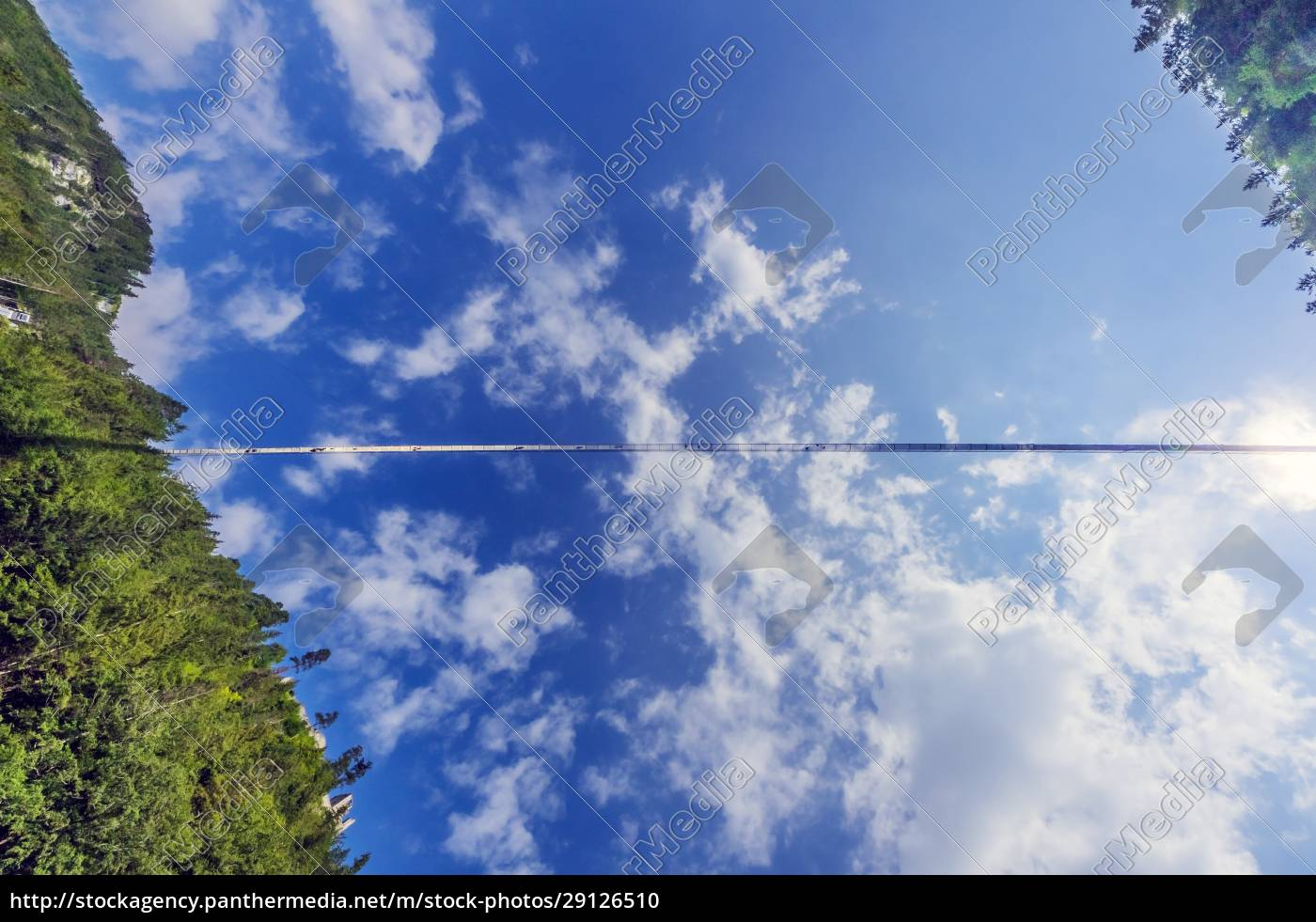 austria, , tyrol, , reutte, , highline179, stretching, against - 29126510