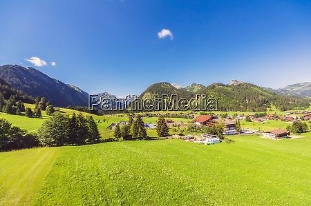 austria, , tyrol, , rural, village, in, tannheimer - 29126576
