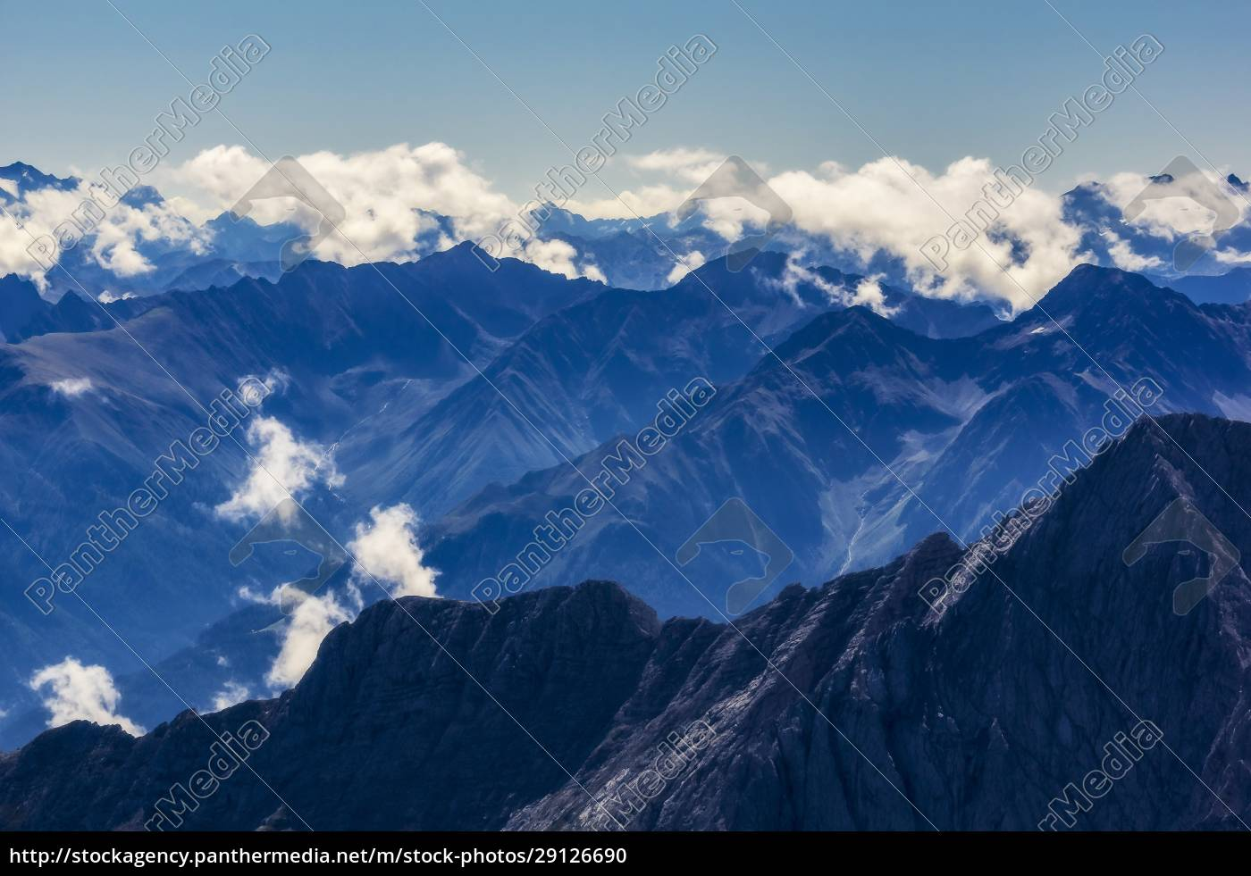 austria, , tyrol, , scenic, view, of, clouds - 29126690