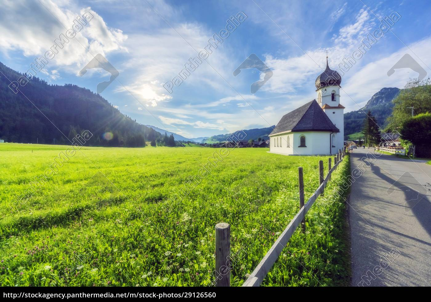 austria, , tyrol, , small, countryside, church, in - 29126560