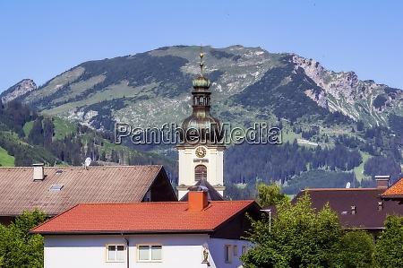 austria, , tyrol, , tower, of, village, church - 29126574