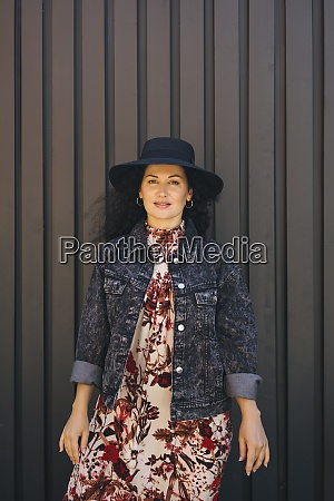 mid adult woman wearing jacket and