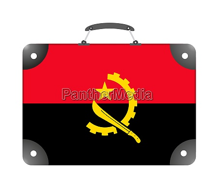 flag of the country of angola