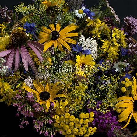 heilpflanzenstrauss arrangement