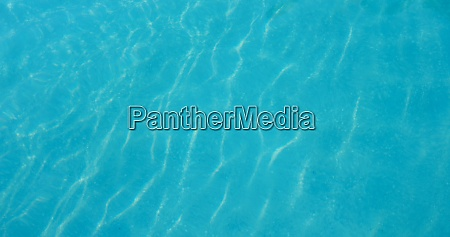 blue water wave in swimming pool