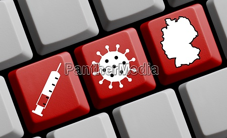 coronavirus vaccination in germany red