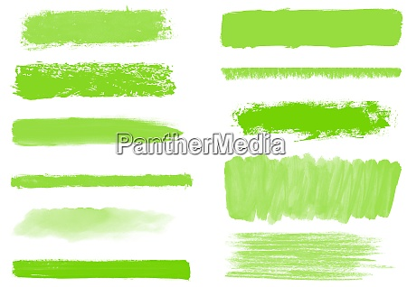 brush and pencil stripes collection with