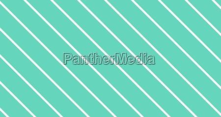 white diagonal stripes on green background